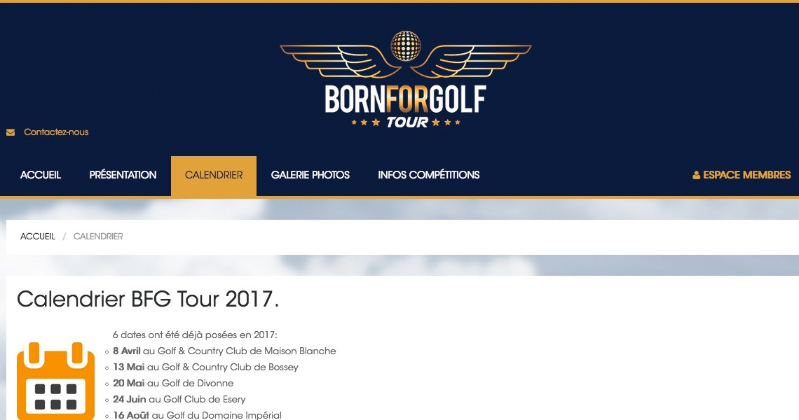 BornForGolfTour